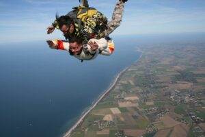 Best Places For Sky Diving In India